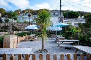 A view of the pool at Marazion Hotel or nearby