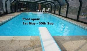 The swimming pool at or near Alpaca Lodge