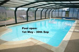 The swimming pool at or near The Piggery Pod