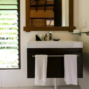 A bathroom at The Village House