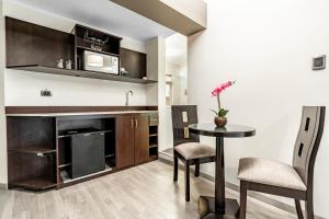 A kitchen or kitchenette at Hotel Andesmar