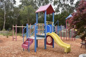 Children's play area at Sanctuary House Resort Motel