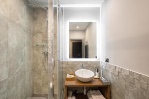 Ванная комната в Hartwell Hotel Москва Маяковская