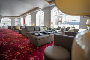 En restaurant eller et andet spisested på Milling Hotel Saxildhus