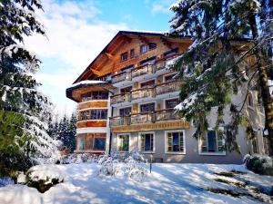 Hotel Ribno Superior v zime