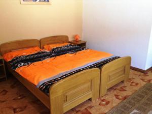 Posteľ alebo postele v izbe v ubytovaní Ubytovanie Anka Sučanská
