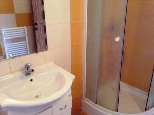 Kúpeľňa v ubytovaní Ubytovanie Anka Sučanská