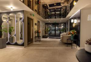 The lobby or reception area at River Ness Hotel, a member of Radisson Individuals
