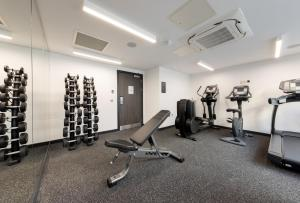The fitness center and/or fitness facilities at River Ness Hotel, a member of Radisson Individuals
