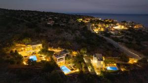 Vista aerea di Astra Villas