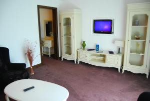 A television and/or entertainment center at Hotel Zodiac