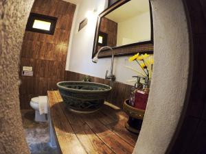 Ein Badezimmer in der Unterkunft Naracha Resort
