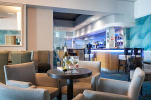 The lounge or bar area at The Beresford Hotel