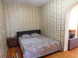Кровать или кровати в номере пл Ленина 20 курзона центр