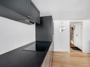 A television and/or entertainment center at Smaller Luxury Apartment