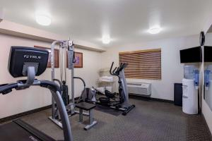 The fitness center and/or fitness facilities at AmericInn by Wyndham Havre