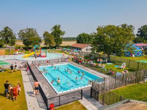 A view of the pool at Zonneweelde, Vakantie aan Zee or nearby