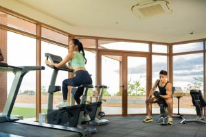 The fitness center and/or fitness facilities at Modala Beach Resort