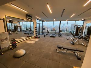 Het fitnesscentrum en/of fitnessfaciliteiten van President Hotel