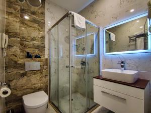 ALBA HOTEL & SPA tesisinde bir banyo