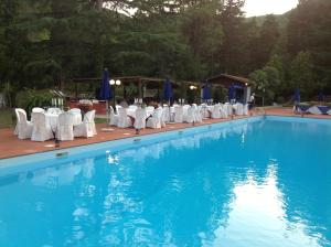 The swimming pool at or near Park Hotel Napoleone
