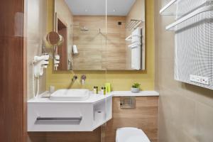 A bathroom at Hotel Panoramika Design & Spa