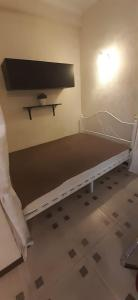 Кровать или кровати в номере Apartments na Prosvesheniya 147/1