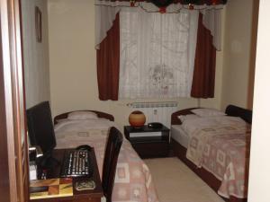 Łóżko lub łóżka w pokoju w obiekcie Luksusowe Apartamenty Łódź