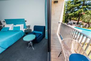 A balcony or terrace at Hotel Arupinum