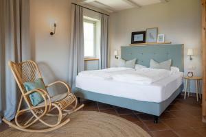 Cama o camas de una habitación en Villa Gloria