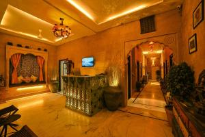 The lobby or reception area at Hotel Turban House