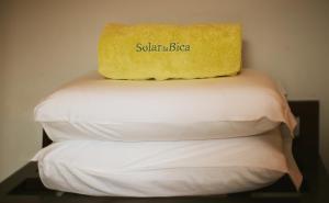 Кровать или кровати в номере Solar da Bica