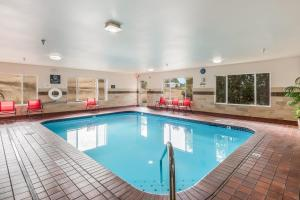 The swimming pool at or near Red Lion Inn & Suites at Olympic National Park