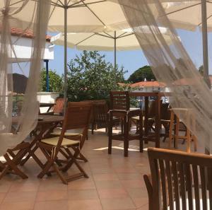 Εστιατόριο ή άλλο μέρος για φαγητό στο Victor Eleni Hotel
