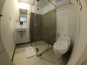 A bathroom at Hotel Quinto Nivel