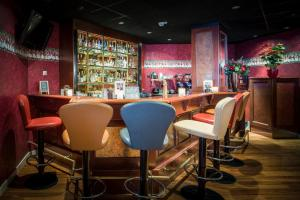 The lounge or bar area at Badhotel Scheveningen