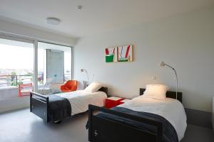A room at Hotel Middelpunt