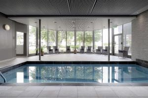 The swimming pool at or near Scandic Helsingborg Nord