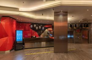 The lobby or reception area at Park Inn by Radisson Novosibirsk