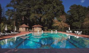 The swimming pool at or near Castello Della Castelluccia