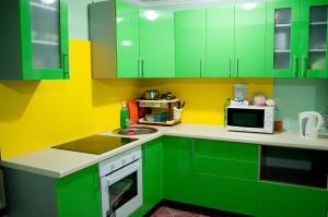 A kitchen or kitchenette at Sweet Hostel