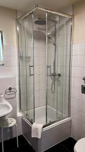 A bathroom at Hotel an der Hörn