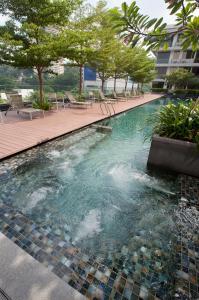 The swimming pool at or near Dorsett Singapore (SG Clean)
