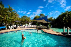 The swimming pool at or near BIG4 Tweed Billabong Holiday Park