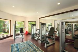 The fitness center and/or fitness facilities at Trident Jaipur