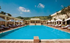 The swimming pool at or near Trident Jaipur
