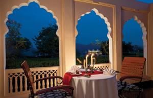 A restaurant or other place to eat at Trident Jaipur