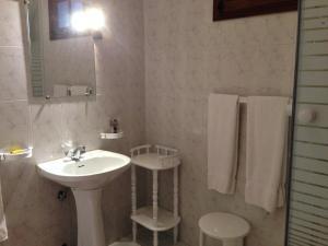 A bathroom at Restaurante Abba