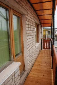 Балкон или терраса в PichuginHall Hostel