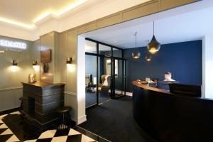 Lobbyen eller receptionen på Milling Hotel Ritz Aarhus City